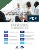 Calendario cursos AVSEC 2020