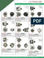 oferta iunie 2020 alternatoare electromotoare piese componente