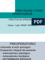 CUIDADOS PREOPERATORIOS