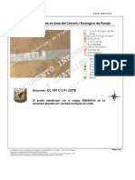 Informe de Predios en área del Corredor Ecologico de Ronda