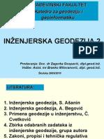 40Prvo Predavanje Uvod IG2 2010