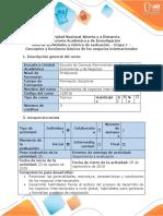 Guía de actividades y rúbrica de evaluación - Etapa 1 - Conceptos y funciones de los negocios internacionales