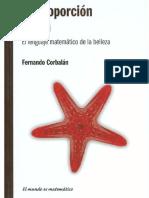 (El mundo es matemático) Fernando Corbalán - La proporción áurea_ el lenguaje matemático de la belleza-RBA (2010).pdf