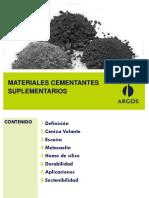 4. Materiales cementantes Suplementarios1