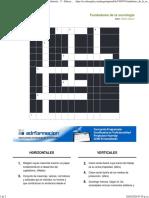 Imprimir Crucigrama_ Fundadores de La Sociología