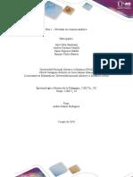 Paso2 - Presentar un resumen analitico.