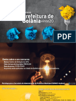 Análise do Edital de Goiânia 2020