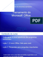 Treinamento do Microsoft® Office
