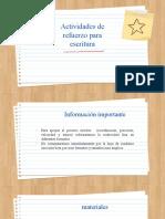 actividad apoyo escritura 2