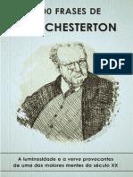 100 Frases de Gilbert Keith Chesterton - Livro gratuito