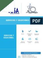 Servicios y Soluciones - ICSA