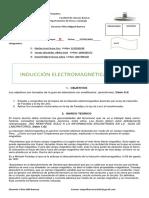 INDUCCION ELECTREOMAGNETICA GRUPO D
