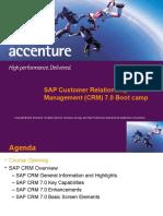 SAP CRM 7.0 Bootcamp Day 2