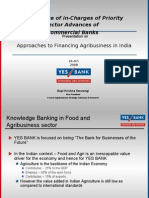 Yes Bank Approaches to Agribusiness