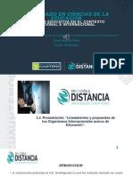 """""""Lineamientos y propuestas de los Organismos Internacionales acerca de Educació, PDF FINAL"""