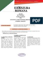 CLASE LITERATURA ROMANA