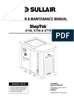 OPERATION AND MAINTENANCE MANUAL SHOPTEK ST45, ST55 & ST75 REV 01