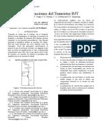 Polarizacion de Los Transistores Bjt