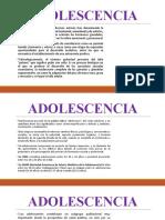 ADOLESCENCIA CAMBIOS FISICOS, PSICOLOGICOS Y SOCIALES