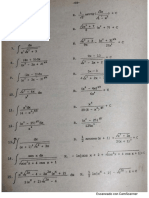 Integrales por sustitución trigonométricas