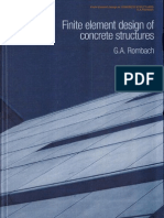 FE Design of Concrete Structures
