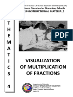 VISUALIZATION OF MULTIPLICATION OF FRACTIONS