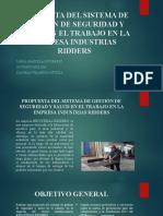 PROPUESTA DEL SISTEMA DE GESTIÓN DE SEGURIDAD NUEVA.pptx