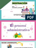 Proceso administrativo y la planificación y dirección