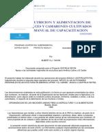 [FAO] - Nutricion de peces y camarones cultivados