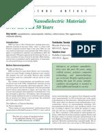 Tanaka_2013_EIM_1st_Nanodielectric materials