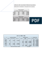 Estudio de caso - Aplicación de métodos de valuación de inventarios.
