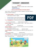 SESIÓN 10 CLASIFICACIÓN DE LA ORACION