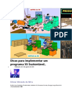 Dicas para implementar um programa 5S Sustentável