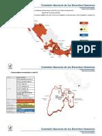 Reporte de contagios en cárceles de México
