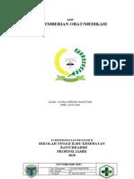 SOP PEMBERIAN OBAT-fatma efendi nasution - npm 201922038