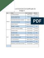 Cronograma do Seminário de Qualificação do Estágio II (2)