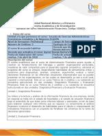 Syllabus del curso - Administracion financiera