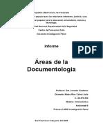 Criminalistica,Areas de la documentologia , Matos Carlos