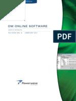 044-05393 OM Online Software Manual Rev B