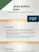 El sistema político mexicano Cosío Villegas