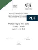 MONTAGUD - Metodología BIM para Proyectos de Ingeniería Civil