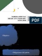 NORMA OFICIAL MEXICANA NOM-035-STPS-2018