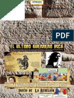 TUPAC AMARU II EN LA INDEPENDENCIA DEL PERÚ