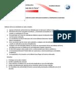 Parámetros para la participación de los estudiantes en clases virtuales TGT