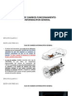 SEMANA N°05 CAJA DE VELOCIDADES INFORMACION GENERAL
