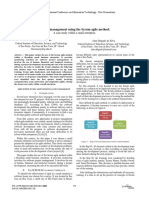 Project Management Using the Scrum Agile Method_ a Case Study Within a Small Enterprise