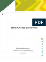 Exercise Questionnaire