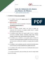 Reg. admissão_CURSO BÁSICO_Musica 2020_21
