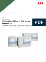 1MRK511393-UEN E en Communication Protocol Manual IEC61850 Edition 2 670 Series Version 2.2