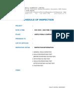 Asefa - LV Test procedure ( MDB )